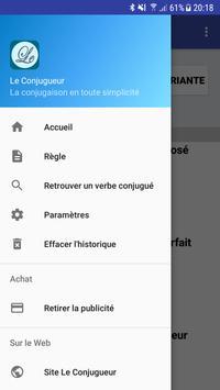 Le Conjugueur apk screenshot