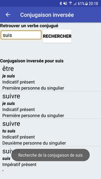 Le Conjugueur screenshot 2
