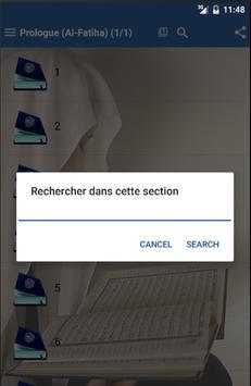 Le Coran en Français apk screenshot