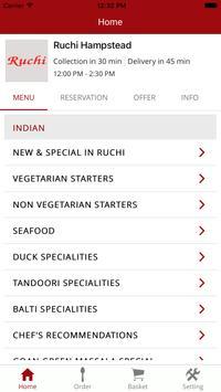 Ruchi Restaurant screenshot 1