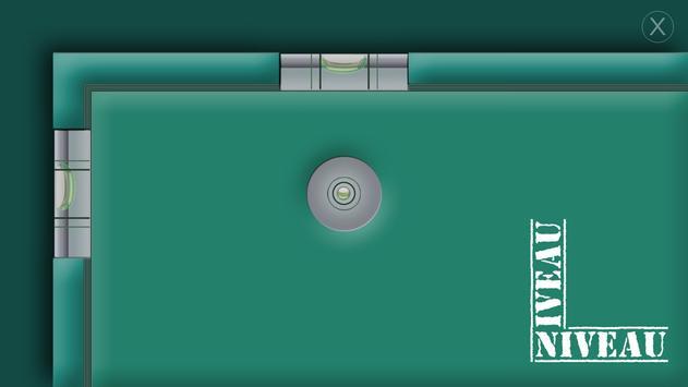 Niveau à bulle gratuit apk screenshot