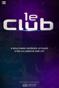 Le Club 47 poster