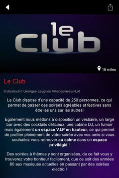 Le Club 47 apk screenshot