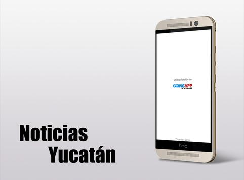 Noticias Yucatán poster
