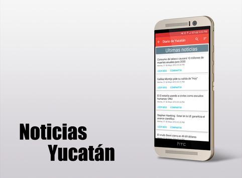 Noticias Yucatán apk screenshot