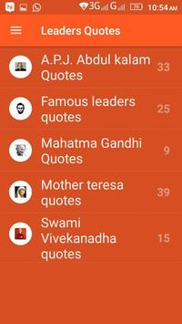 Famous Leaders Quotes screenshot 1