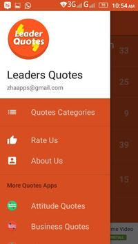 Famous Leaders Quotes screenshot 2