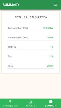 Electromanager - Electricity Bill Calculator screenshot 4