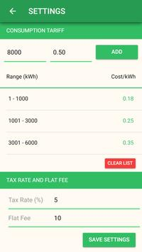 Electromanager - Electricity Bill Calculator screenshot 5