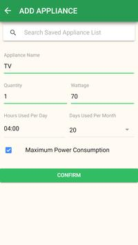 Electromanager - Electricity Bill Calculator screenshot 3
