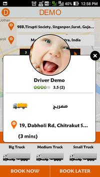 TruckCustomer - Demo apk screenshot