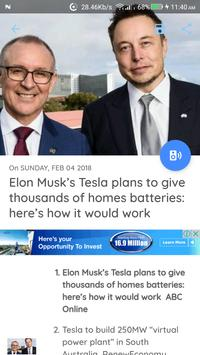 Australia News - Awesome Australian News App screenshot 11