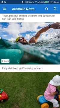 Australia News - Awesome Australian News App screenshot 1