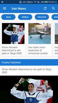 Iran News - Awesome Iranian News App screenshot 10
