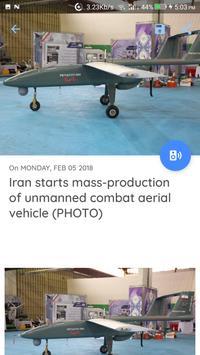 Iran News - Awesome Iranian News App screenshot 14