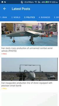 Iran News - Awesome Iranian News App screenshot 2