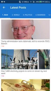 Iran News - Awesome Iranian News App screenshot 6
