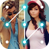 Couple Photo Pattern Locker icon