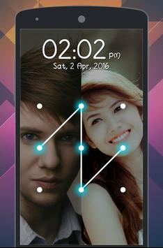 Couple Photo Pattern Locker apk screenshot