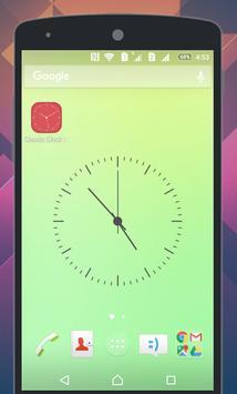 Classic Clock Live Wallpaper apk screenshot