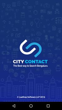 City Contact poster