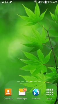 Leaf Live Wallpaper screenshot 3