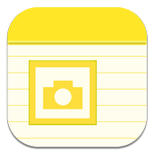 Note with Photo icon