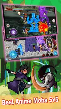 League of Ninja: Pertempuran Moba poster