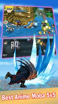 League of Ninja: Pertempuran Moba screenshot 1
