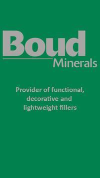 Boud Minerals poster