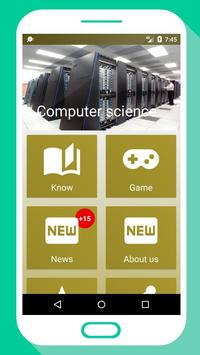 💾 Computer Science Quiz & NEWS apk screenshot