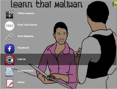 Learn Thai Maliwan apk screenshot