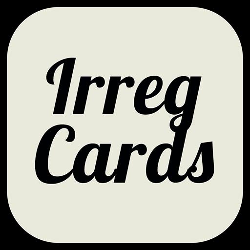 Irregular Verbs Cards: English Irregular Verbs