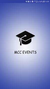 MCC Events poster