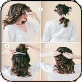 Silky hair icon
