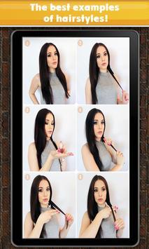 Silky hair apk screenshot