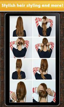 Cheerful types hairstyles apk screenshot