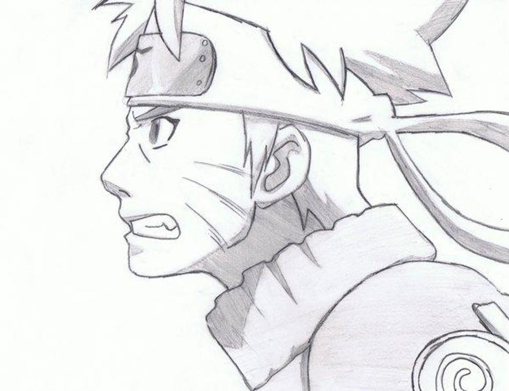 How to draw naruto characters screenshot 3