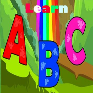 ABC for Kids, Learn alphabet poster