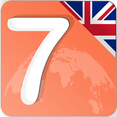learn 7 languages  by english icon