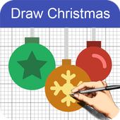 How to Draw Christmas icon