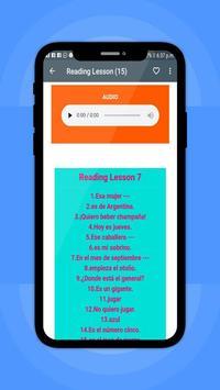 Learn Spanish Word screenshot 9