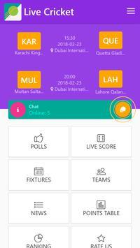 Live Cricket screenshot 1