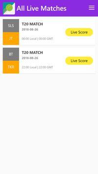 Live Cricket screenshot 5