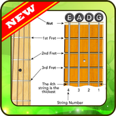learn chord guitar bass easy way icon