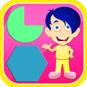 Learning Shape Games For Kids icon