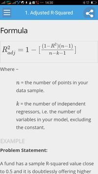 Learn Statistics Full screenshot 1