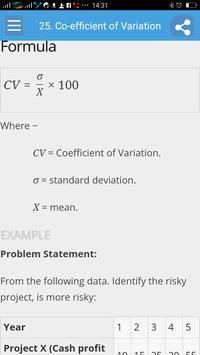 Learn Statistics Full screenshot 5