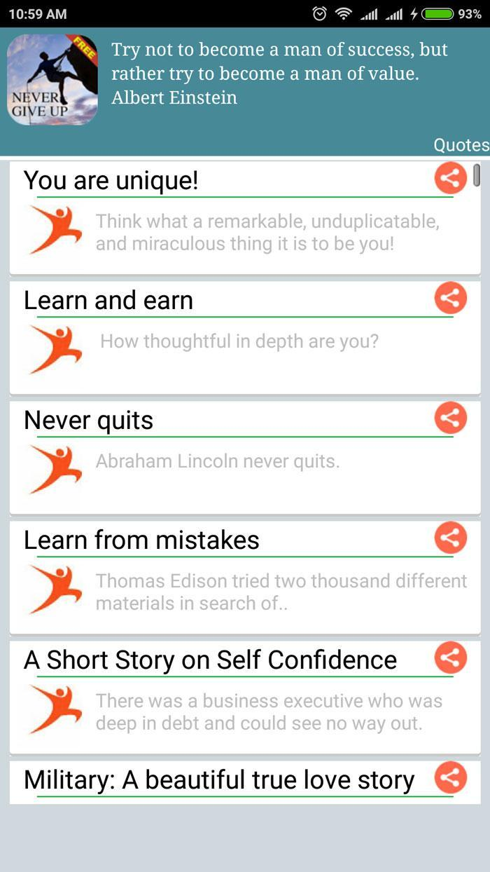 Motivational Stories & Quotes for Android - APK Download
