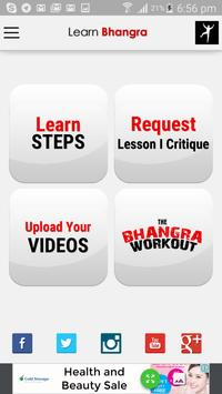 Learn Bhangra poster